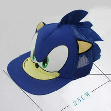 Load image into Gallery viewer, Sonic The Hedgehog Cartoon Youth Adjustable Baseball Hat Cap For Boys