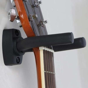 1/2/3/4pcs Home Guitar Instrument Display Guitars Hook Wall Hangers Holder Mount Display Guitare Accessories (Color: Black)