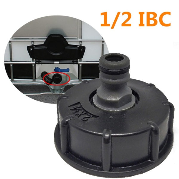 Fashion IBC Adapter Reducer Connector Hose Lock Water Pipe Tap Storage Tank Fitting Butt