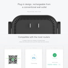 Load image into Gallery viewer, Xiaomi 300Mbps 2 Antennas Wifi Amplifier Wireless Router Wifi Signal Extender Repeater 2.4GHz