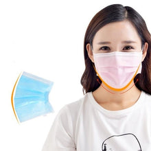 Load image into Gallery viewer, 1~50 Pcs 3-Ply Disposable Face Mask, Dust Mask Flu Face Masks with Elastic Ear Loop for All People