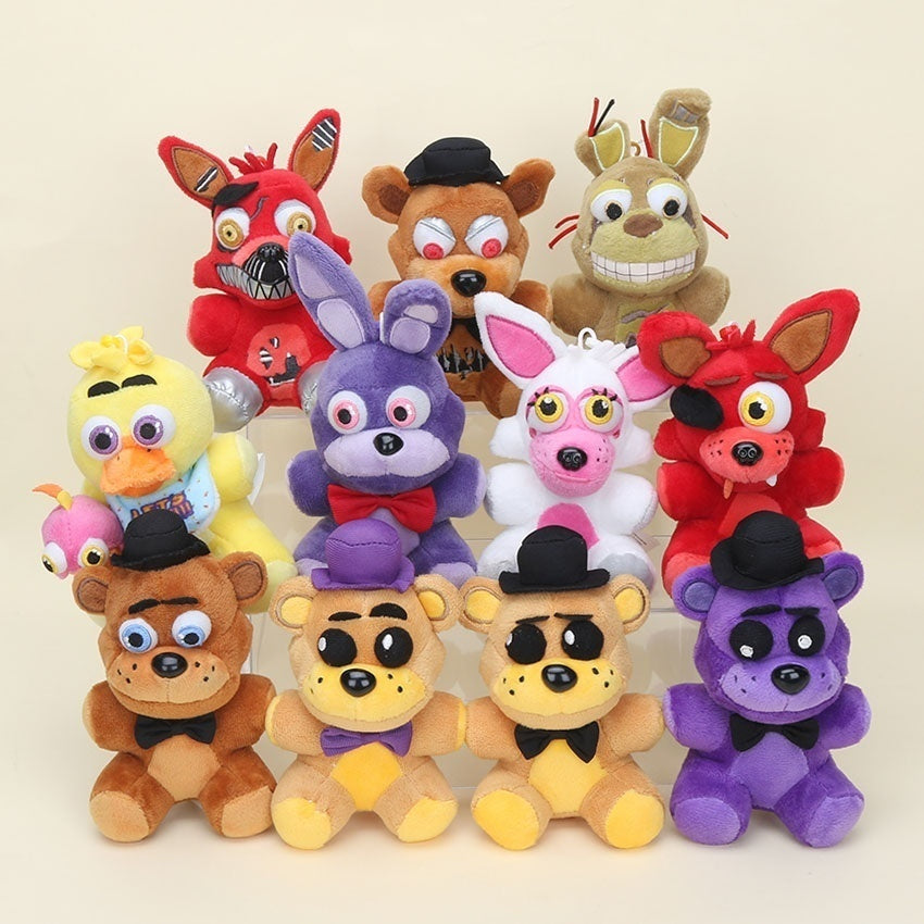 New Arrival 9 Styles Five Nights At Freddy's  FNAF Plush Toys Freddy Bear Foxy Chica Bonnie Plush Stuffed Toys Doll for Kids Gifts