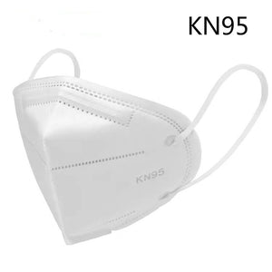 1/3/5pcs KN95 Medical Mask Mouth Face Mask Anti Dust Cotton Filter Mouth Masks Cover Anti Fog Haze N95 Masks Surgica