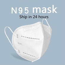 Load image into Gallery viewer, 1/3/5pcs KN95 Medical Mask Mouth Face Mask Anti Dust Cotton Filter Mouth Masks Cover Anti Fog Haze N95 Masks Surgica