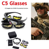 Tactical Glasses Army Goggles Military 4 Lens Kit Outdoor Sports Sunglasses War Game Motorcycle Cycling Goggles
