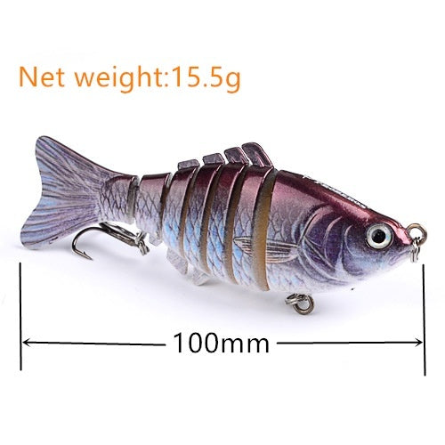 1pcs accessorie for Fishing Lure Crankbait Hooks Bass Bait Tackle New Fish Hook bait