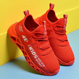 Kids Running Shoes Boys GirlsTennis Walking Sneakers Breathable Children's Knit Sneakers