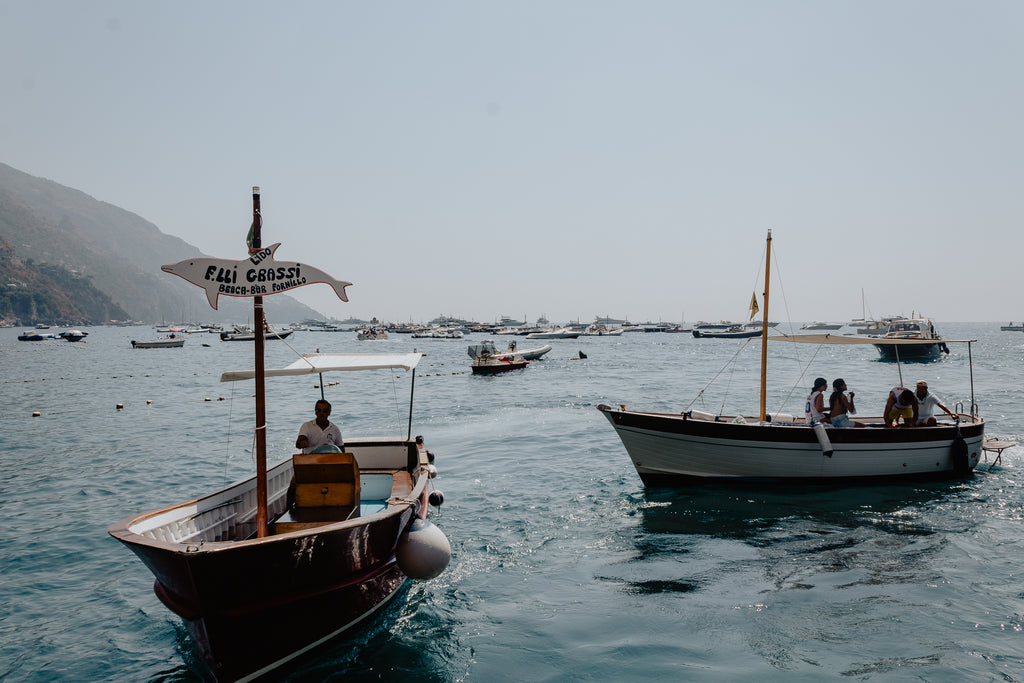 Two boats along the Adriatic Coast