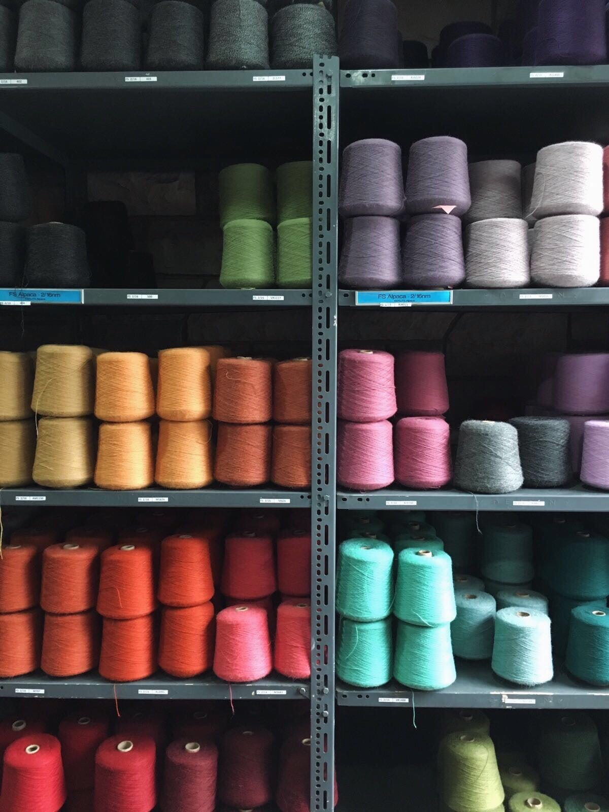 Yarn Samples CAMBIE