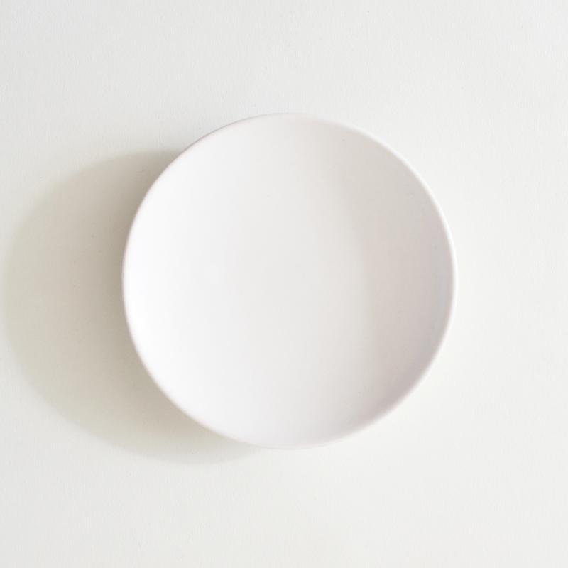 White Ceramic Dish