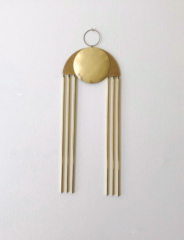 Brass Wall Hanging no. 1