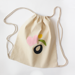 Mío Cotton Drawstring Bag