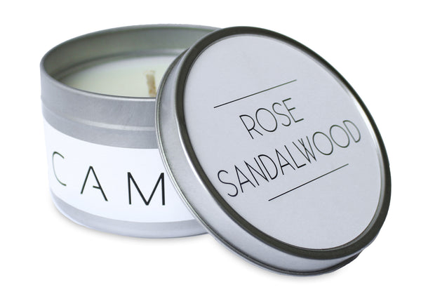 Rose Sandalwood Candle