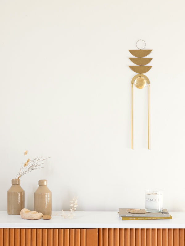 Brass Wall Hanging no. 2