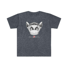 Women's Softstyle Graphic Tee, Lenny the Lemur-Practice Empathy