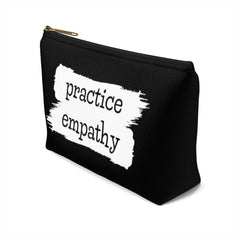 Accessory Pouch, Brushes Logo, black-Bags-Practice Empathy