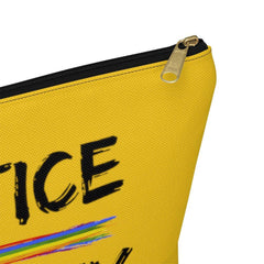 Accessory Pouch, Rainbow Logo, yellow-Bags-Practice Empathy