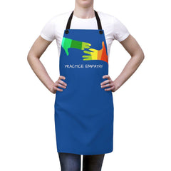 Apron, My Hand to Yours, royal blue-Accessories-Practice Empathy