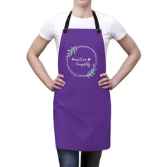 Apron, Olive Branch Logo, purple-Accessories-Practice Empathy