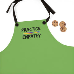 Apron, Rainbow Logo, green apple-Accessories-Practice Empathy