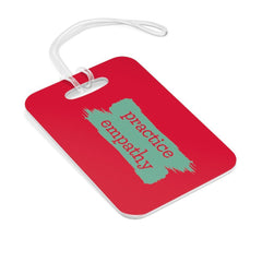 Bag Tag, Brushes Logo, forest green-Accessories-Practice Empathy