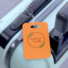 Bag Tag, Olive Branch Logo, orange-Accessories-Practice Empathy