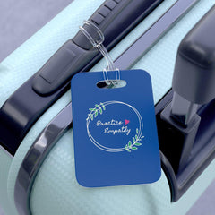 Bag Tag, Olive Branch Logo, royal blue-Accessories-Practice Empathy