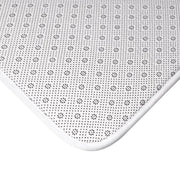 Bath Mat, Nourishing Home, white-Home Decor-Practice Empathy