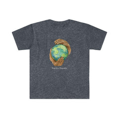 Women's Softstyle Graphic Tee, Nourishing Home-Practice Empathy