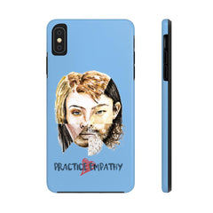 Case Mate Tough Phone Case, Akin, light blue-Phone Case-Practice Empathy
