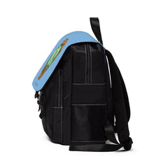 Casual Shoulder Backpack, Nourishing Home, light blue-Bags-Practice Empathy