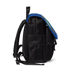 Casual Shoulder Backpack, Nourishing Home, royal blue-Bags-Practice Empathy