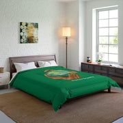 Comforter, Nourishing Home, forest green-Home Decor-Practice Empathy