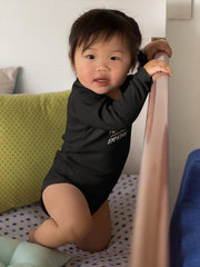 Infant Long Sleeve Bodysuit, Rainbow Logo-Kids clothes-Practice Empathy