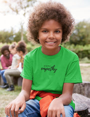 Junior Softstyle Tee, Hand in Hand Logo-Kids clothes-Practice Empathy
