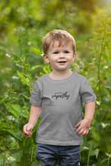 Kid's Fine Jersey Tee, Hand in Hand Logo-Kids clothes-Practice Empathy