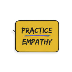 Laptop Sleeve, Rainbow Logo, yellow-Laptop Sleeve-Practice Empathy