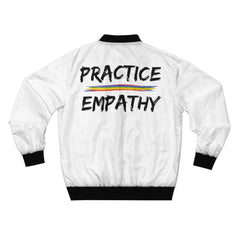 LIMITED EDITION Bomber Jacket-All Over Prints-Practice Empathy