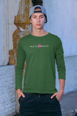 Men's Ultra Cotton Long Sleeve Tee, Classic Logo