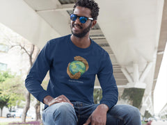 Men's Ultra Cotton Long Sleeve Tee, Nourishing Home