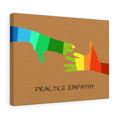 My Hand to Yours, Canvas Gallery Wrap-Canvas-Practice Empathy