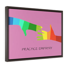 My Hand to Yours, Premium Framed Canvas, hopbush-Canvas-Practice Empathy
