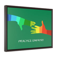 My Hand to Yours, Premium Framed Canvas-Canvas-Practice Empathy