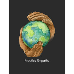 Nourishing Home, Premium Framed Canvas, black-Canvas-Practice Empathy