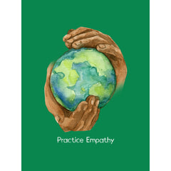 Nourishing Home, Premium Framed Canvas, forest green-Canvas-Practice Empathy