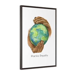 Nourishing Home, Premium Framed Canvas, white-Canvas-Practice Empathy