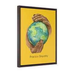Nourishing Home, Premium Framed Canvas, yellow-Canvas-Practice Empathy