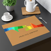 Placemat, My Hand to Yours, tussock-Home Decor-Practice Empathy
