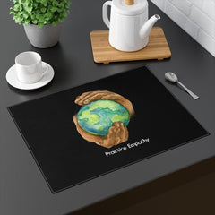 Placemat, Nourishing Home, black-Home Decor-Practice Empathy