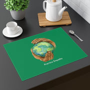 Placemat, Nourishing Home, forest green-Home Decor-Practice Empathy